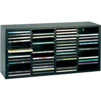 Dřevěný regál Beco na 60 CD