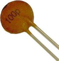 100pF/500V TK676, keramický kondenzátor