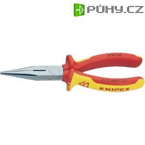 Půlkulaté kleště rovné VDE Knipex 25 06 160, 160 mm
