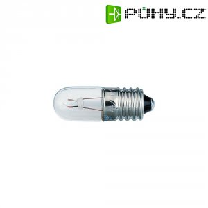 Malá trubková žárovka Barthelme 00210602, 333 mA, E10, 2,0 W, čirá, 6 V