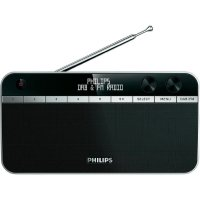 DAB+ a FM přenosné rádio Philips AE5250, černá
