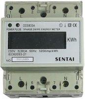 Elektroměr 1 fázový digitální na DIN lištu