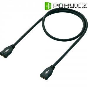 HDMI spojovací kabel, 1,5 m, černá