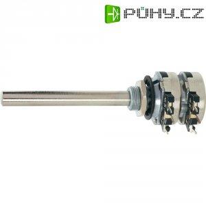 Stereo potenciometr Piher, T21TH-M0607102A2020MTA, 1 kΩ, 0,2 W , ± 20 %