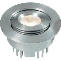 Vestavné LED svítidlo Albir DE-230-1, 2,5 W, stříbrná/šedá/hliník