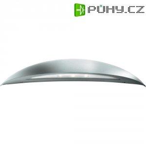 """Venkovní nástěnné LED svítidlo Philips \""""Pori\"""" 17208/47/16, 7,5 W, stříbrná"""