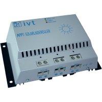 Solární regulátor nabíjení IVT MPPT-Controller 18319, 30 A, 12 V, 24 V