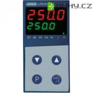 Kompaktní třístupňový termostat s časovačem Jumo CTRON08, 20-30V AC/DC