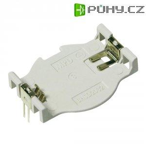Držák na knoflíkovou baterii CR2032 MPD, s pájecími kontakty