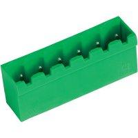 Vertikální svorkovnice PTR STL950/4G-5.0-V (50950045101F), 4pól., zelená