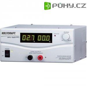 Spínaný laboratorní zdroj Voltcraft SPS-1525 PFC, 3 - 15 V, 25 A