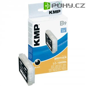 Cartridge KMP B9 = BROTHER LC-1000, 1035,0001, černá