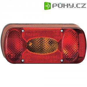 Světlo na nosič kola SecoRüt, 90448, 5komorové, červená/oranžová