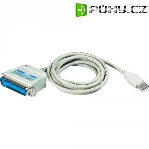 USB adaptér ATEN, USB 2.0 bílý, 1,8 m