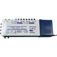 Satelitní multipřepínač, EuroSky MS 178 C, 17 vstupů, 8 výstupů