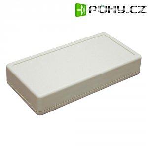 Plastová krabička polystyrol Hammond Electronics 1599BSGY, 130 x 65 x 25 , šedá
