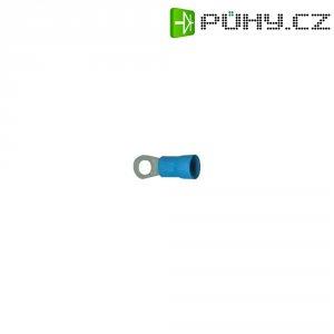 Izolované kabelové oko, 10 - 15 mm², Ø 6 mm, M6, modré