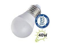 Žárovka LED G45 E27 5W bílá teplá (Pc)