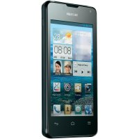 "SmartPhone Huawei Y300, 1 GHz Dual-Core, Android 4.1, displej 4\"", černý"