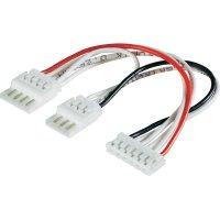 Y kabel balancéru Modelcraft, EH/XH, 2x 4 články