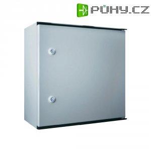 Plastový skříňový rozvaděč KS Rittal KS 1446.500, 400 x 600 x 200 mm, světle šedá