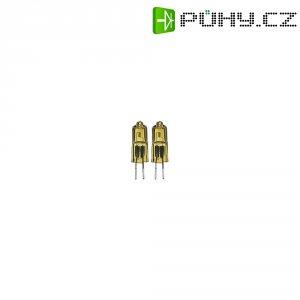 Halogenová žárovka, Paulmann 831179, 12 V, 10 W, G4, Ø 9 mm, zlatá