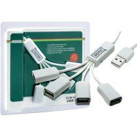 USB hub 2.0, 4-port, Digitus, 1 m