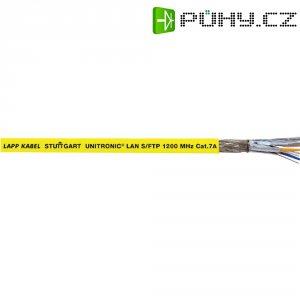 Síťový kabel CAT 7 UNITRONIC 4x2x0.25 mm², oranžový, bez halogenů