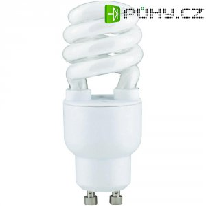 Úsporná žárovka spirálová Paulmann GU10, 7 W, teplá bílá