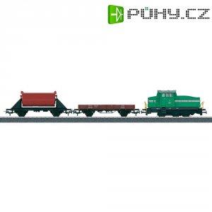 Startovací sada H0 nákladního vlaku a dieselovky DHG 500 Märklin World 29162