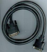 Kabel DVI-D(24+1) - DVI-D(24+1)-zdířka 1,5m DOPRODEJ
