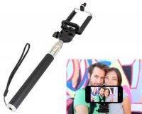 Držák - teleskopická tyč 22-106cm pro focení selfie