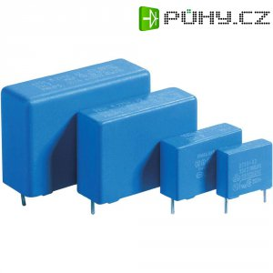 Foliový kondenzátor MKP, 1 µF, 275 V/AC, 20 %, 31 x 13 x 23 mm