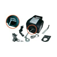 Motorový autonaviják HP Autozubehör 20604, 900 kg, kabelové/bezdrátové dálkové ovládání