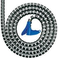 Kabelový oplet HellermannTyton HWPP-16MM-PP-BK-Q1 161-64201, 16 mm (max), 25 m, černá