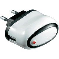 USB nabíječka Goobay Tra, 10 W, černá/bílá