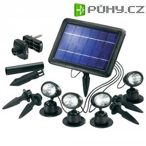Solární LED svítidlo Esotec Quattro Power, 102142, černá, 4 ks