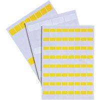 Štítky LappKabel LCK-65 YE (83256152), 12 ks na listu, žlutá