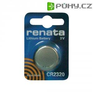 Knoflíková baterie Renata CR2320, lithium, 700344
