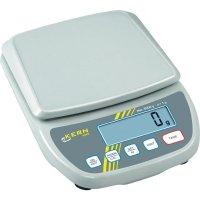 Váha na dopisy Kern max. váživost 12 kg rozlišení 1 g 230 V, na baterii bílá