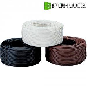 Dvojitá licna, izolovaná v PVC(NYFAZ) - černá