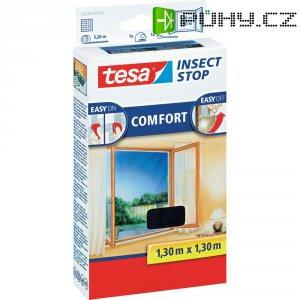 Síť proti hmyzu do oken tesa Insect Stop Comfort, (d x š) 1300 mm x 1300 mm, antracitová, 1 ks