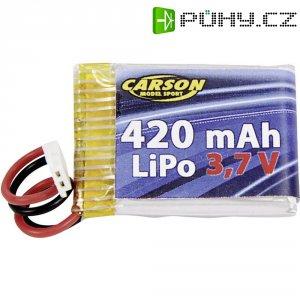Akupack Li-Pol (modelářství) Carson Modellsport 500608092, 3.7 V, 420 mAh