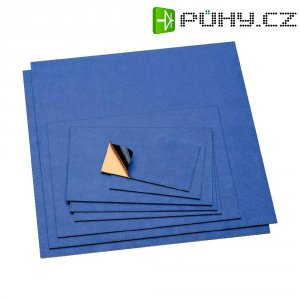 Epoxidová DPS Bungard 120206E33, 160 x 100 x 1 mm, fotocitlivá jednostranná, epoxid/měď 35 µm