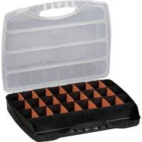 Box na součástky Alutec 56000, 320 x 265 x 50 mm, černá