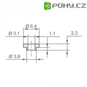 Izolační průchodka KSS V5731, 6,4/3,1 mm