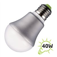 Žárovka LED A60 E27/230V 4W - bílá studená MINI
