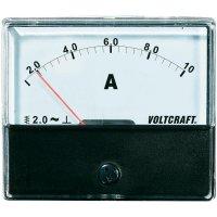 Analogové panelové měřidlo VOLTCRAFT AM-70X60/10A 10 A