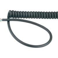 Spirálový kabel LappKabel H05VVH8-F (73222342), 500/1500 mm, černá
