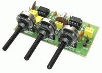 Stavebnice PT007 Kytarový a mikrofonní korekční předzesilovač